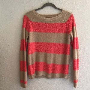 LC Striped Pink & Brown Sweater